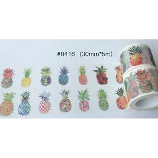 Pineapples #8416 Washi Tape 30mm x 5m