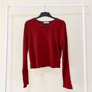 Valleygirl Cropped Long Sleeves