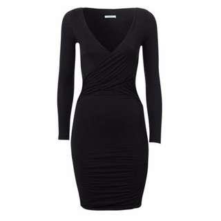 Kookai Black View Mini Dress - Size 1