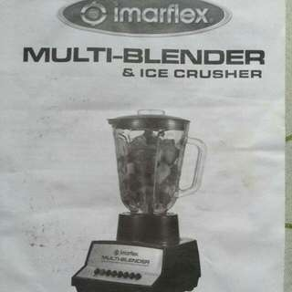 Imarflex Multi Blender And Ice Crusher