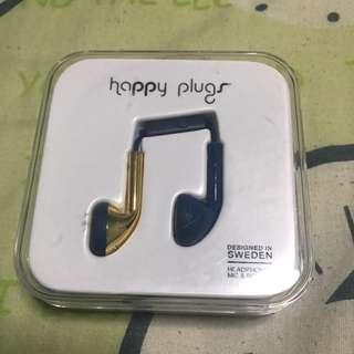 Brand New Happy Plug Headphones