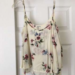 Hollister flower Top