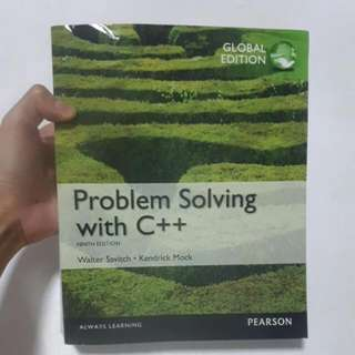 Problem Solving With C++ Textbook