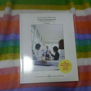 Project Management The Managerial Process Textbook