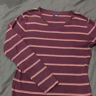 Blued Longsleeve Shirt Sweater Type