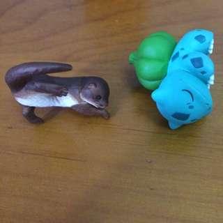 妙蛙種子 水獺 扭蛋