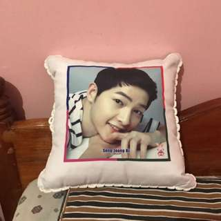Song Joong Ki Pillow From Myeongdong, Seoul