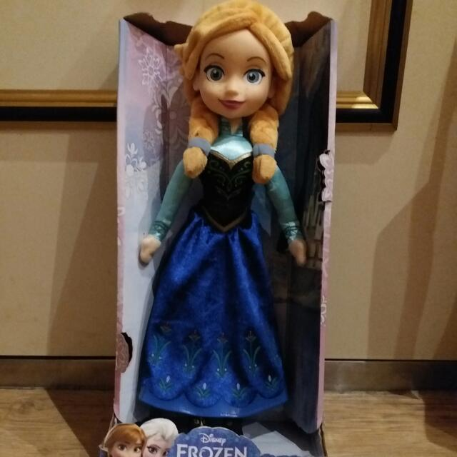2013迪士尼冰雪奇緣安娜公主大型公仔娃娃