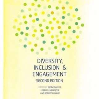 Diversity, Inclusion And Engagement EBOOK