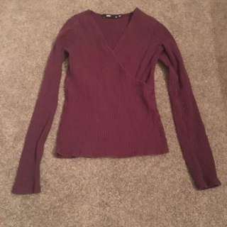 sportsgirl long sleeve top