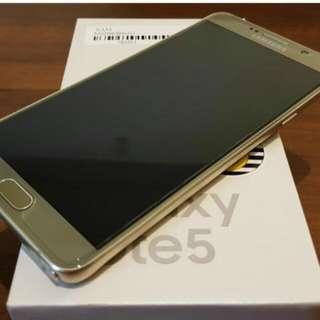 SAMSUNG64G Note 5金色