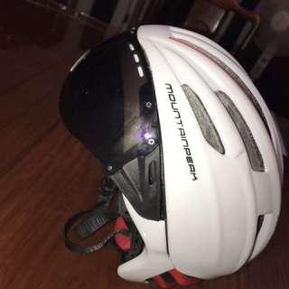 單車頭盔連防風鏡