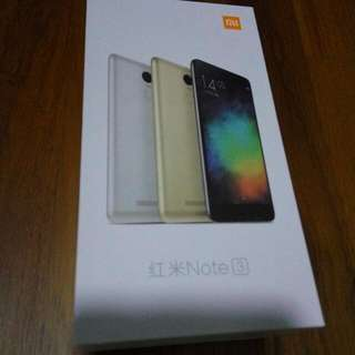 BNIB Redmi Note 3 Silver