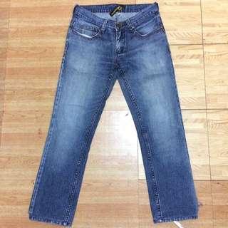 Folded & Hung Denim Pants For Men