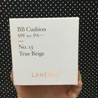 Laneige BB Cushion [Pore Control] SPF 50+ PA+++ No. 13 True Beige + Refill