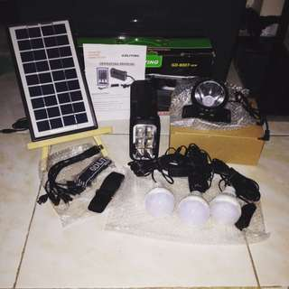 Emergency Solar Powered Lights