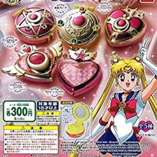 現貨~美少女戰士🌙Sailor moon🌙變身器扭蛋 💕鏡子💕小收納盒💕日本帶回💕全新💕