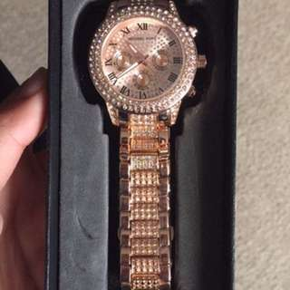 Brand New Michael Kors Replica Rose Gold Watch