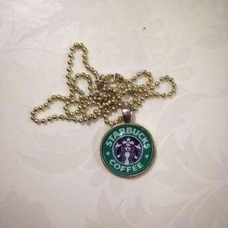 Starbucks Necklace