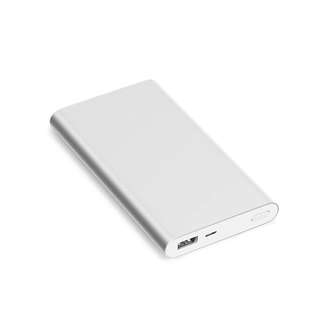 AUTHENTIC Xiaomi 2.0 10,000 mAh Powerbank (Silver)
