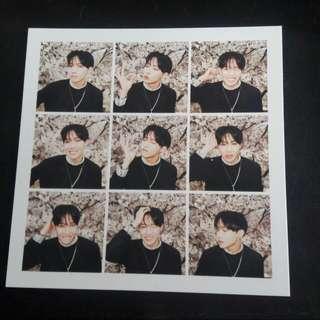 BTS Jhope Photocard