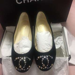 💯Authentic Chanel Ballerina Shoes