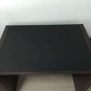 Study Table With Tempered Glass