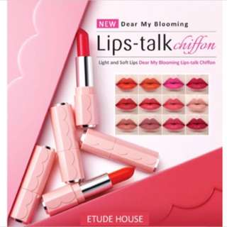 Etude House Dear My Blooming Lips Talk Chiffon
