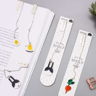 [PO] Cute chain bookmark (inclusive of mail)