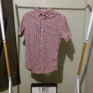 Authentic Old Navy Plaid Polo