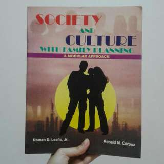 Society & Culture With Family Planning