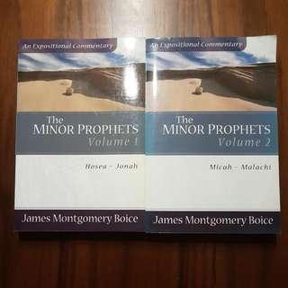 The Minor Prophets (James Montgomery Boice) 2 Volumes