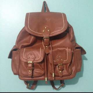 New Look Brown Leather Bag