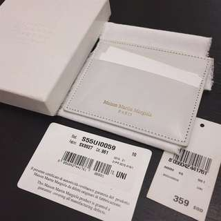 Maison Margiela White Inflammable™ Card Holder