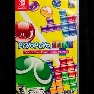 Nintendo Switch Puyo Puyo Tetris