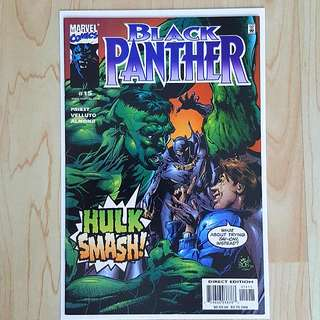 Marvel Comics Black Panther 15 Near Mint Condition VS Hulk