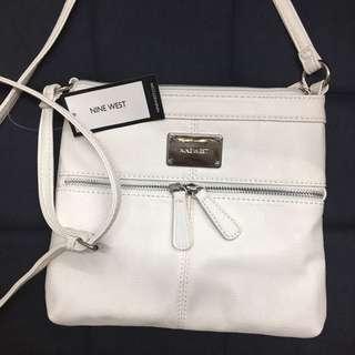 White Nine West Shoulder Bag