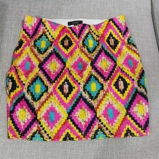 Nichii Mini Skirt Size S