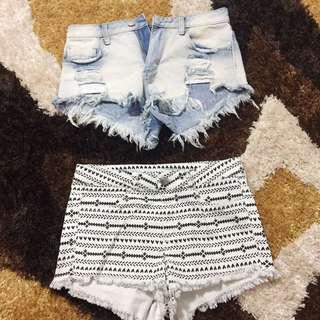 Forever 21 Summer shorts