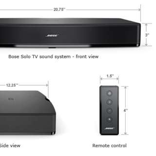 Almost New Bose Solo 10 Series 2 TV sound system