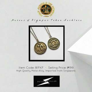 Limited Edition Heroes Of Olympus Necklace