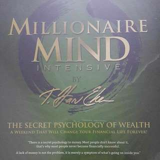 Millionaire Mind Intensive Learning CD Set #FEB50