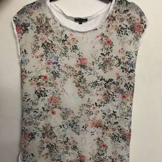 Warehouse Floral Print Blouse