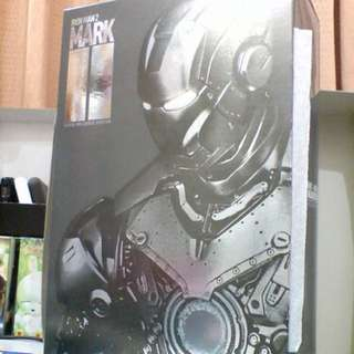 9成新 Hottoys 1:6 Ironman MK II 2.0 鋼鐵俠 Mark 2