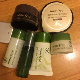Innisfree Travel Size Skincare Set