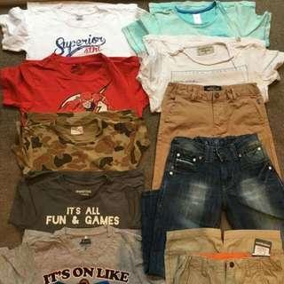 Various Boys Size 7-8 Clothing
