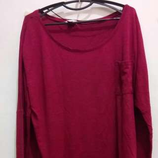 Long Sleeved Cotton On Large
