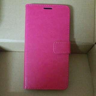 全新Samsung C7桃紅色保護套