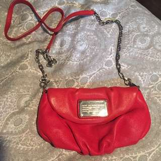 Red Marc Jacobs Clutch
