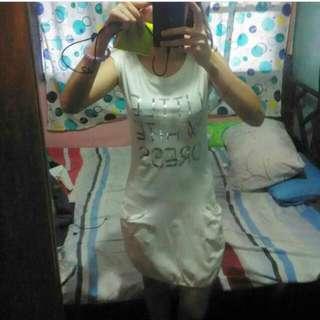 Bny Little White Dress